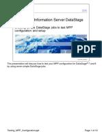 testing MPP configuration datastage