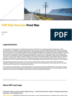 SAP Data Services Road Map