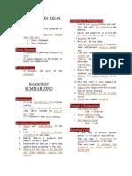 Locating Main Ideas, Summarizing, Paraphrasing and Direct Quoting.docx