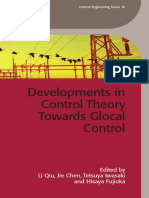 (IET Control Engineering Series 76) Li Qiu, Jie Chen, Tetsuya Iwasaki, Hisaya Fujioka - Developments in Control Theory Towards Glocal Control-The Institution of Engineering and Technology (2012)