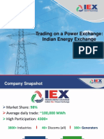 Prasanna Rao - 3 - Trading on a Power Exchange India Energy Exchange - 2017