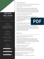 Minimal CV Resume 3pack 1