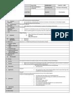 16 Workshop and Preparation of Marketing Plan