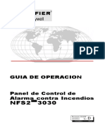 Guia de Operacion Panel Notifier