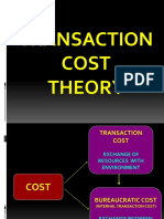 Transaction Cost Theory
