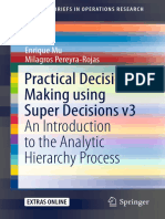 07 Practical Decision Making Using Super Decisions v3 -An Introduction to the Analytic Hierarchy Process