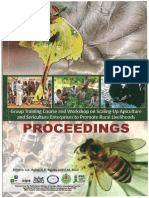 B27-2011group Training Course and Workshop on Scaling-up Apiculture and Sericulture Enterprises to Promote Rural Livelihoods PROCEEDINGS Opz