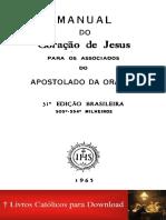 Manual de orações do coração de Jesus