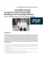 XXVI Good Practices - Educacion Sustentable en Rusia