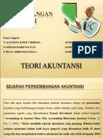 Teori Akuntansi_Kelas F_Kelompok 12_Materi Sejarah Perkembangan Akuntansi