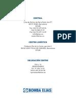 Catalogo General 2016 Bombas Elias
