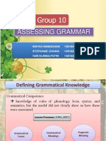 LA Assessing Grammar.pptx