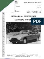 Citroen GSA Manual