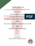 Taize Prayer Around the Cross Liturgy