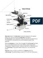 Microscope Parts and Meaning