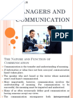 Chapter-12 Managers and Communication