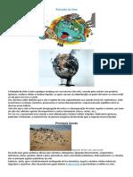 exemplos  de poluição ciências 6º ano
