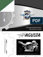 MV Agusta 4 Wartungshandbuch