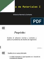 Tema 1 - Esfuerzo Normal y Cortante.pptx