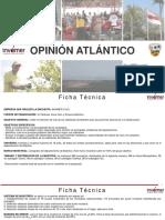Encuesta sobre intención de voto para la Gobernación del Atlántico  - Agosto 2019