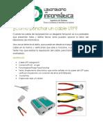 Como Ponchar Un Cable UTP
