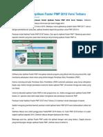 Panduan Install Aplikasi Faster PMP 2018 Versi Terbaru