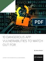 TR EB App Vulnerabilities