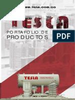 Catalogo Transformadores TESLA