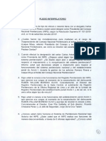 Pliego Interpelatorio del Ministro de Justicia Vicente Zeballos