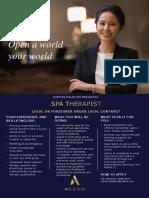 RMM-0047 - Spa Therapist