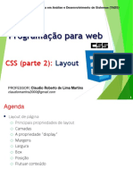 Layout no CSS 3