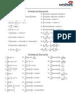 Formulas Calculo Diferencial