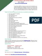 420093170 International Journal of Fuzzy Logic Systems IJFLS