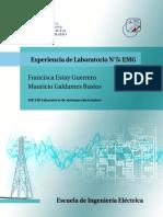 Informe de Laboratorio  EMG
