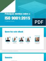 eBook Relatorio Principais Duvida Sobre a Iso 9001 2015
