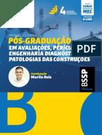 Avaliações, Pericias, Engenharia Diagnóstica e Patologia Das Construções