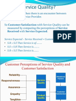 4. Service Quality Dimesions