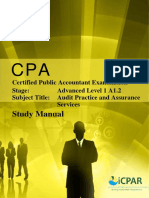 Cpa a1.2 - Audit Practice & Assurance Services - Study Manual