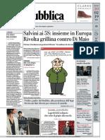 La Repubblica 20 Febbraio 2019