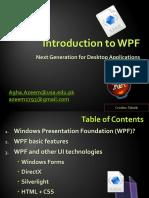 Intro to WPF