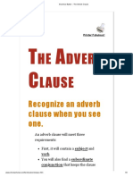 Grammar Bytes! __ the Adverb Clause