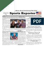 September 4 - 10, 2019  Sports Reporter