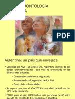 to geriatria y gerontologia