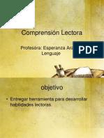 PPT COMPRENSIÓN LECTORA