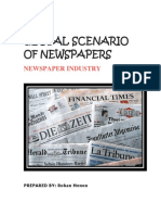 Global Scenario of Newspapers