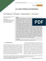 Vit Stabilization