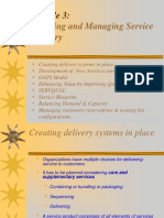 Planning and Managing Service Delivery