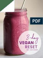 3 Day Vegan Reset