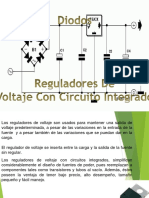 Reguladores de Voltaje Con Circuito Integrado