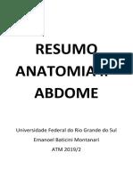 anatomia abdome